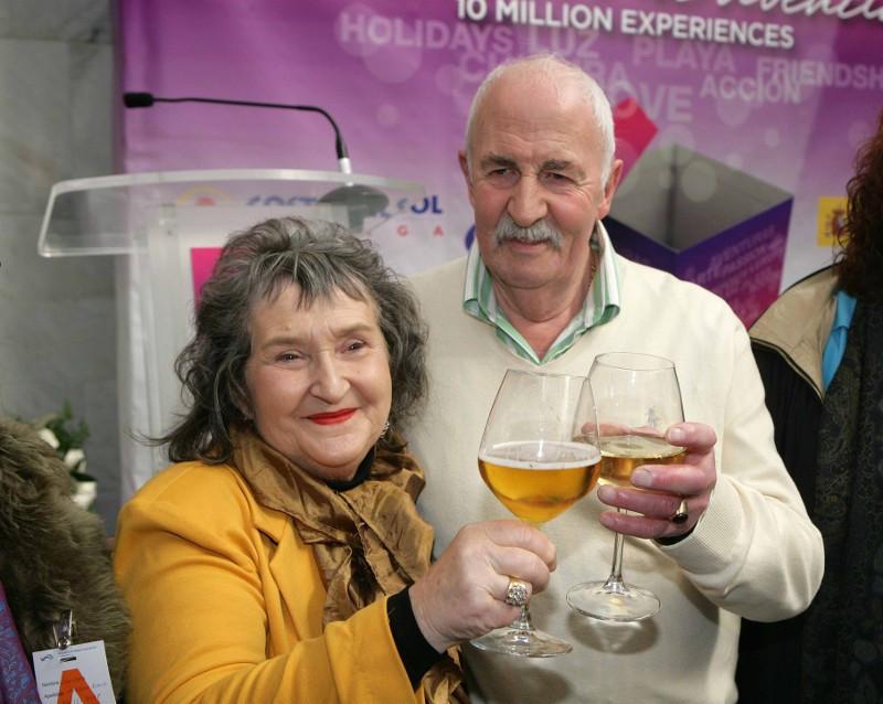 La británica Annita George ha sido la Turista 10 millones en la Costa del Sol este año.