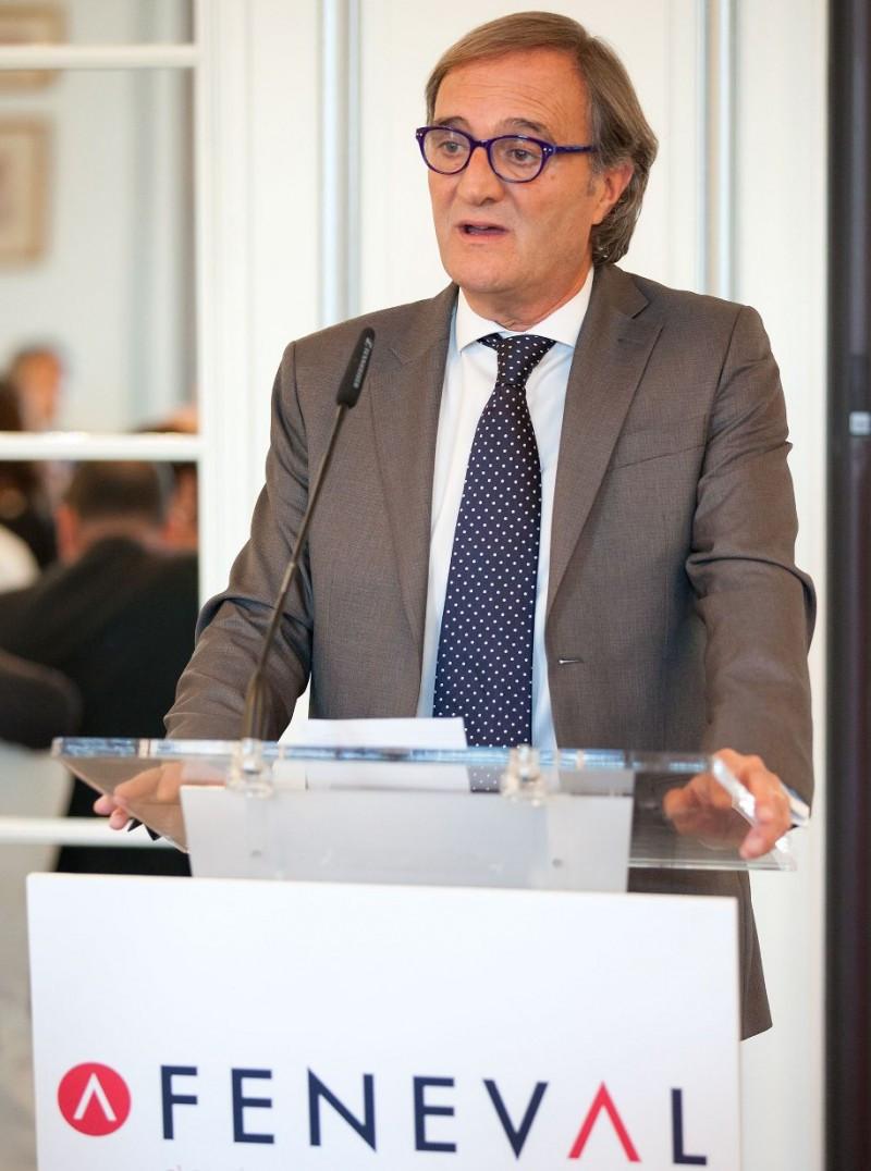 Miguel Saavedra, presidente de Feneval, anuncia la realización del primer estudio sectorial.