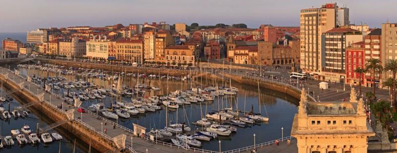 La agencia está en Gijón.