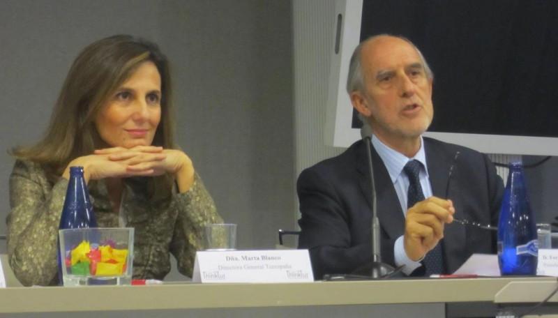 La jornada se clausuró con las intervenciones de Marta Blanco, directora general de Turespaña; y Fernando Panizo, presidente de Thinktur.