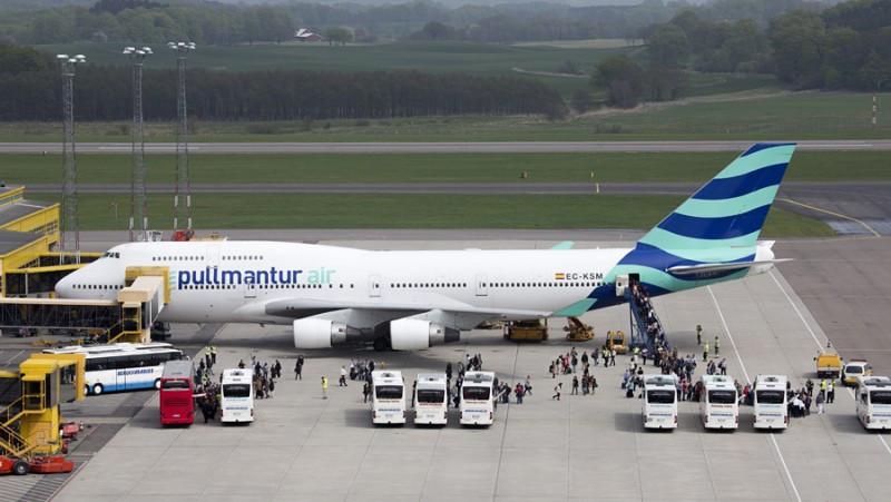 Pullmantur Air cambiará su nombre por el de Wamos Air.