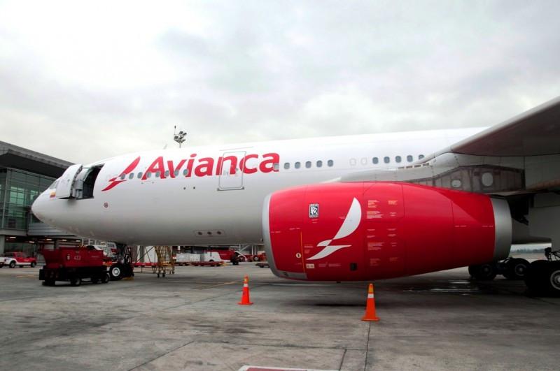 Avianca ha programado uno de sus A330 en el que estrena la nueva imagen de marca.