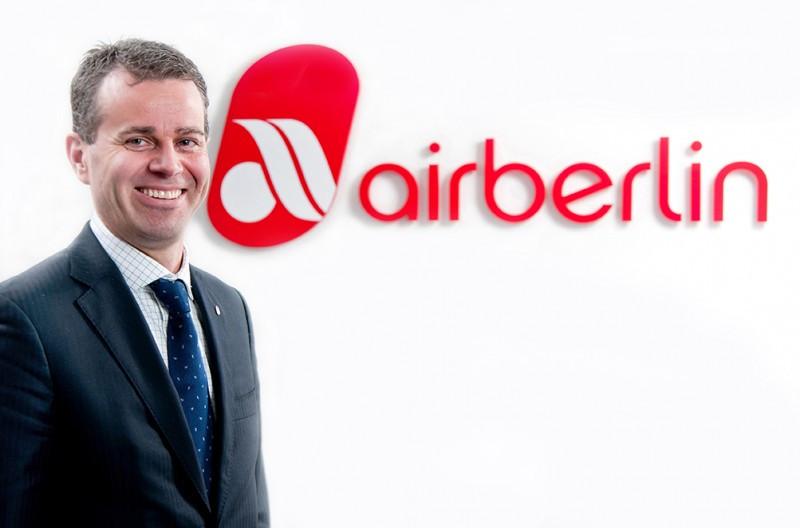 Paul Verhagen, nuevo director de airberlin para Europa Occidental