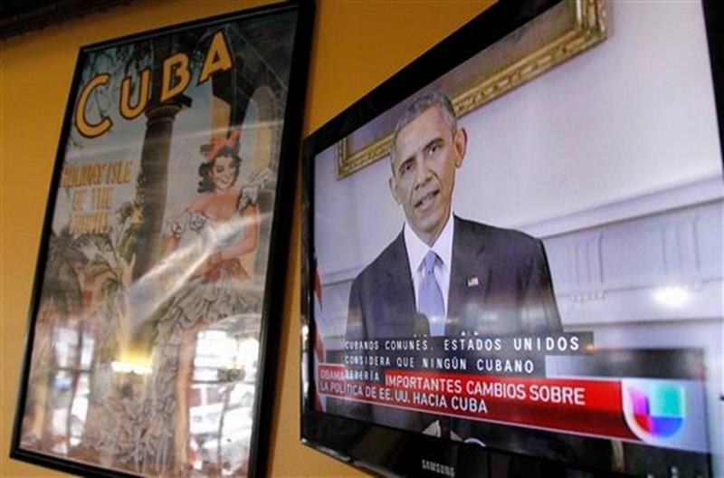 Obama anunció el miércoles por la noche que EEUU retomaba relaciones diplomáticas con Cuba.