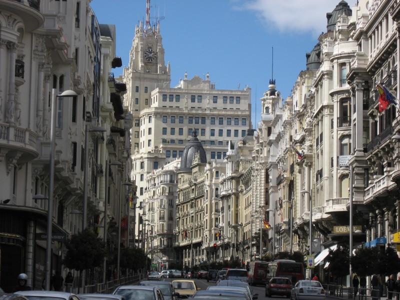 El hotel estará situado en la Gran Vía madrileña.