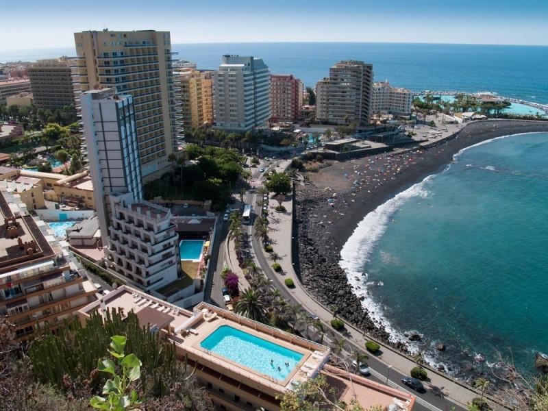 Los precios hoteleros han subido un 2,7% en tasa anual en Canarias. #shu#