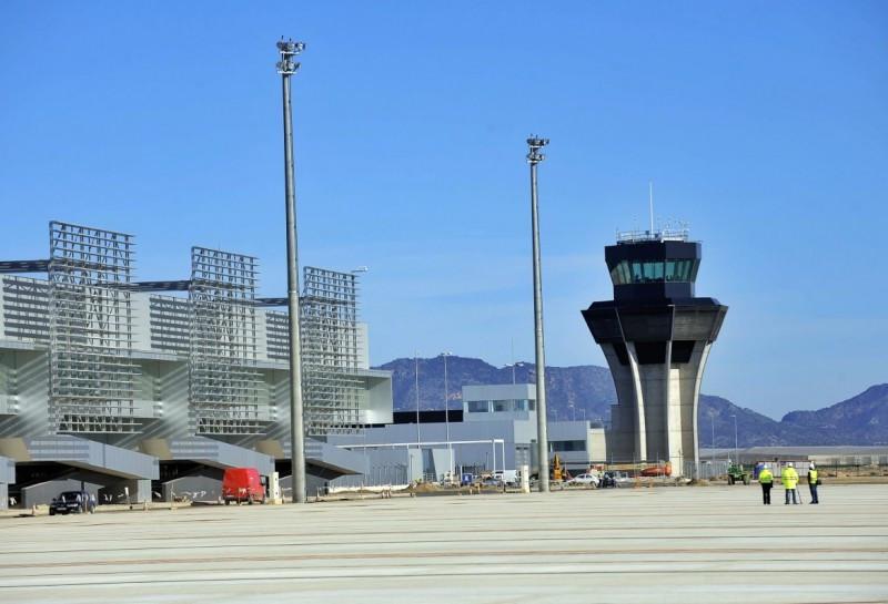 El Aeropuerto Internacional Región de Murcia, a la espera del certificado de Aesa