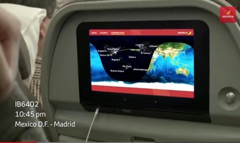 Videonoticia: un inesperado pasajero se cuela en un avión de Iberia entre México y Madrid