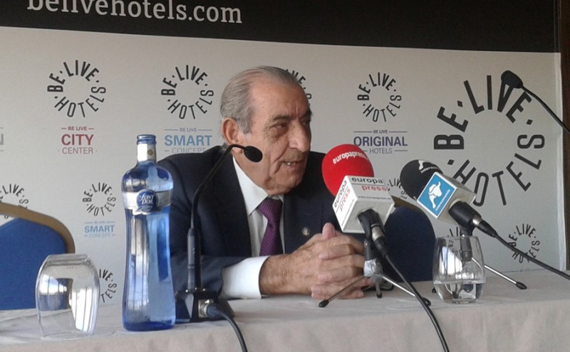 Juan José Hidalgo, presidente de Globalia.