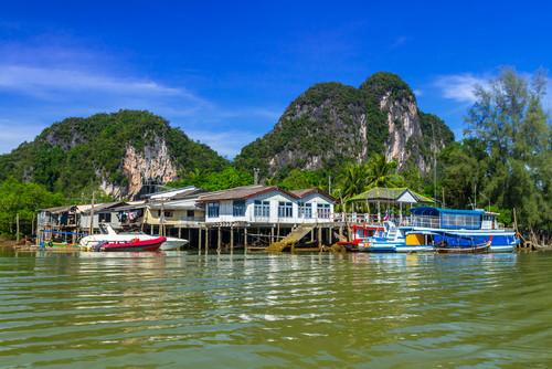 Tailandia fue uno de los países más afectados por el tsunami. #shu#