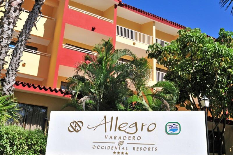 El Allegro Varadero es uno de los cuatro hoteles de los que ha salido Occidental en Cuba.