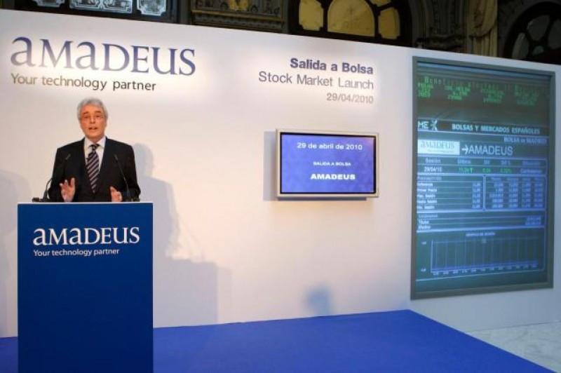 Amadeus recompra acciones propias por valor de 31 M €