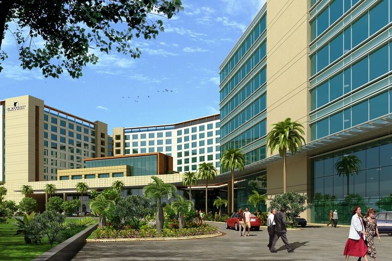 JW Marriott Hotel Mumbai Sahar.