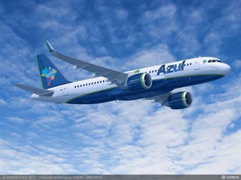 Azul compra 25 aviones A320neo a Airbus valorados en US$ 3.598 millones.