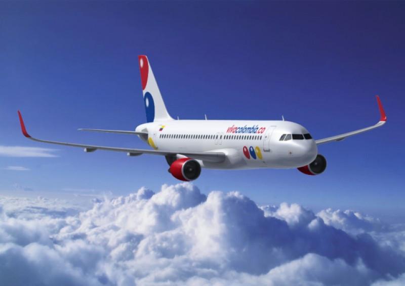 La compañía opera con aviones Airbus A320.