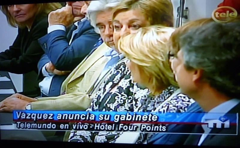 La actual ministra de Turismo fue confirmada para continuar al frente de la cartera en el próximo gobierno. Foto: captura Teledoce