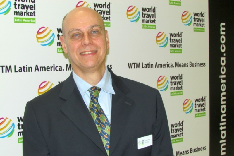 Lawrence Reinisch, director de WTM Latin America.