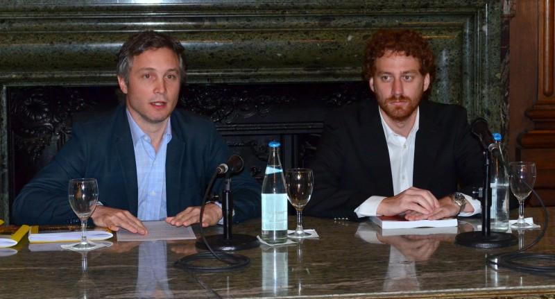 Fernando de Andreis (Ente de Turismo) y Matías Alonso (COPIDIS).