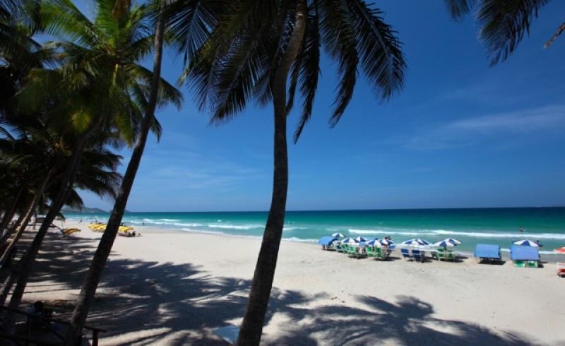 Playa El Agua. Foto: Ministerio de Turismo de Venezuela.