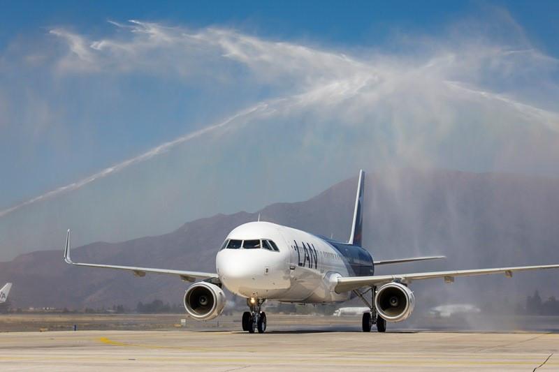Nuevo Airbus A321 de Latam Airlines.