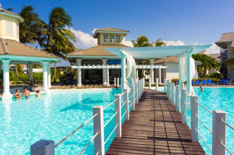 Hotel Meliá en la playa frente a Varadero.