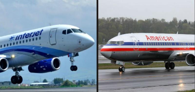 American Airlines e Interjet operarán en código compartido en México.