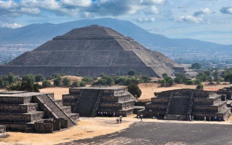 Teotihuacán, uno de los principales sitios arqueológicos del país y atractivo de México DF. #shu#