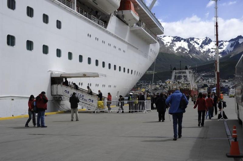 Temporada de cruceros 2014/2015 crecerá 10% en Ushuaia.