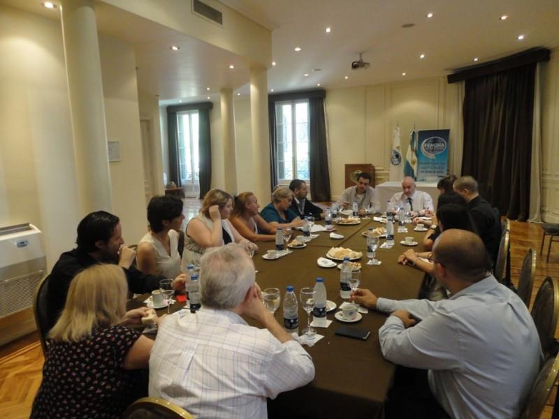 Reunión del Departamento de Capacitación y Formación Profesional.