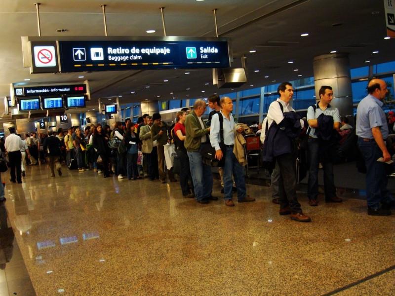 Por Aeroparque pasaron más de 900 mil pasajeros.