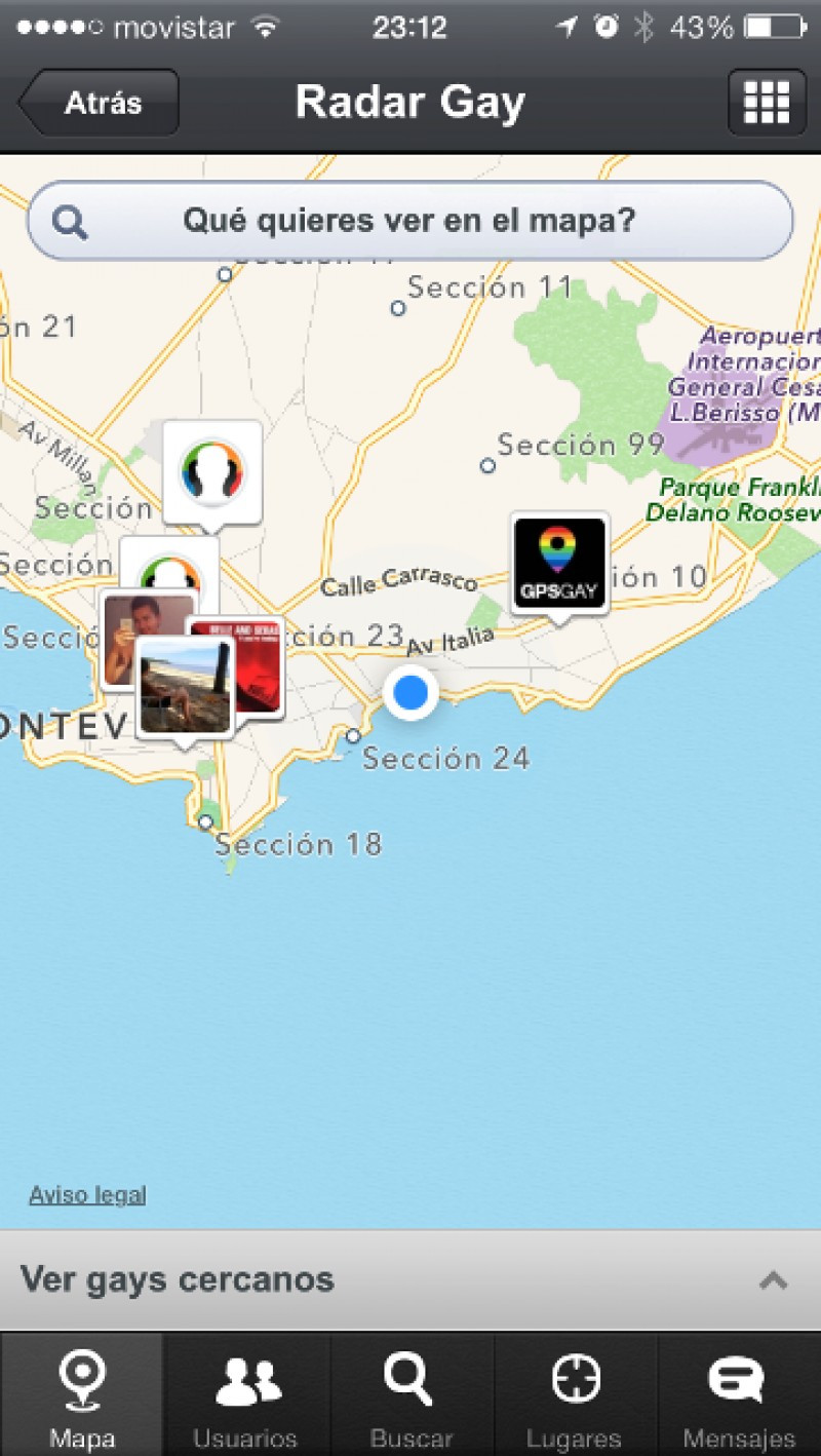 Lanzan plataforma GPS Gay desde Uruguay