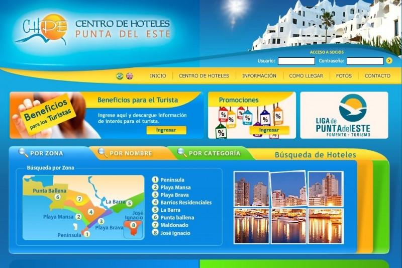 Canal online concentra las reservas en hoteles de Punta del Este