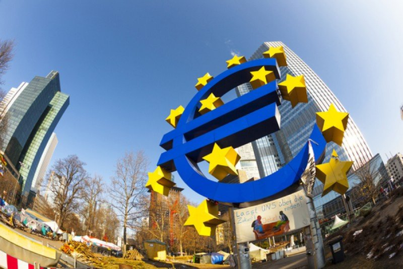 Sede del Banco Central Europeo, en Frankfurt. #shu#