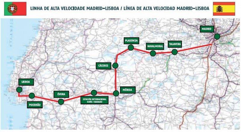 El AVE entre Madrid y Lisboa era un 'bluff'