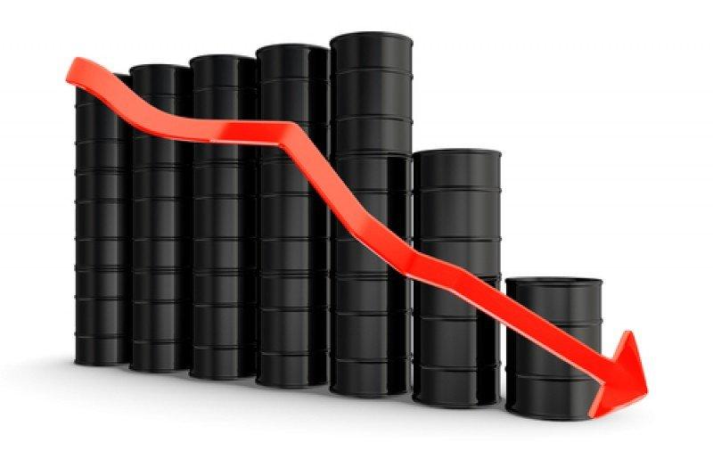 El petróleo Brent baja de 50 dólares por primera vez desde mayo de 2009. #shu#