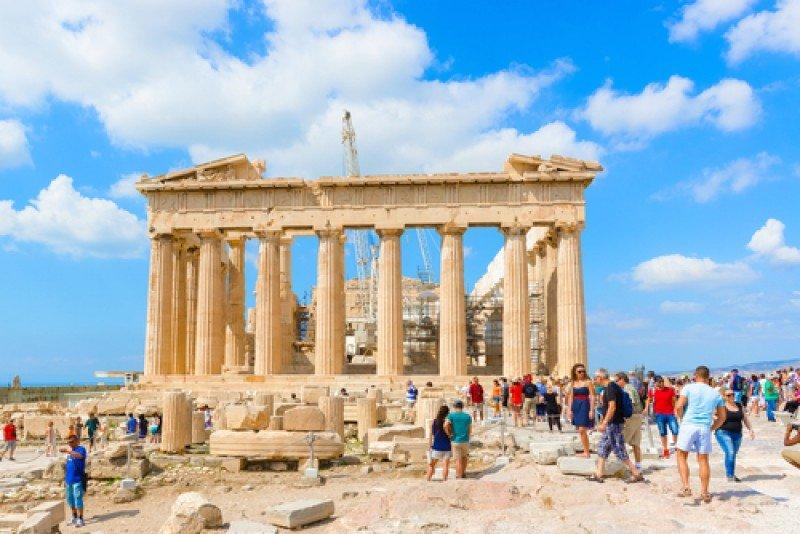 El Partenón de Atenas. #shu#