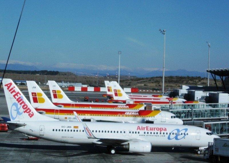 Iberia y Air Europa, las aerolíneas más puntuales del mundo en diciembre de 2014