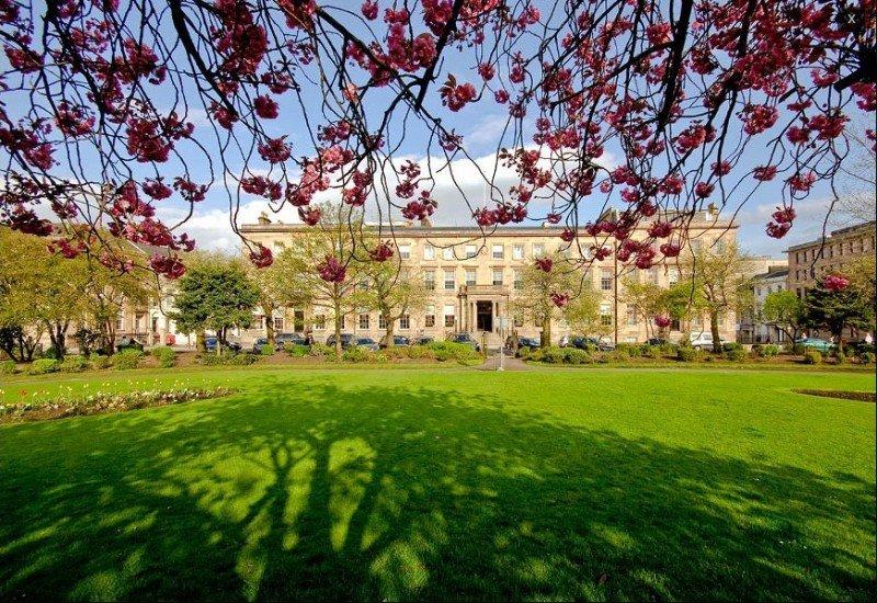 El Blythswood Square, en Glasgow.