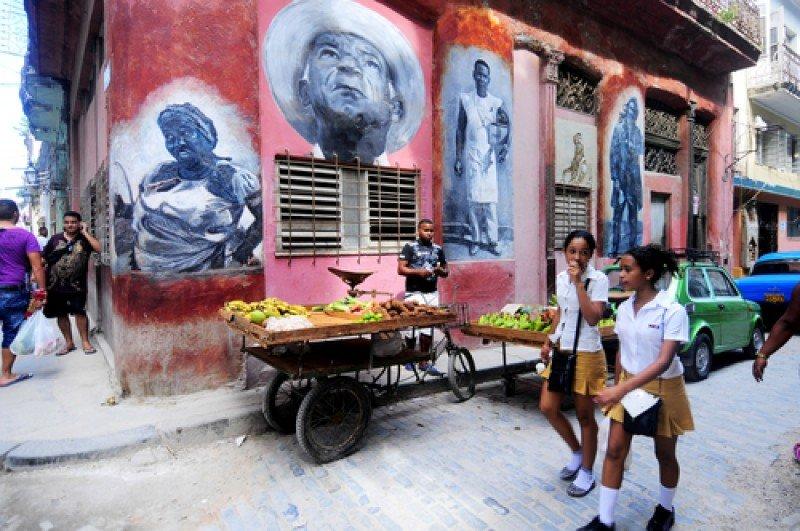 Una escena cotidiana en La Habana. #shu#