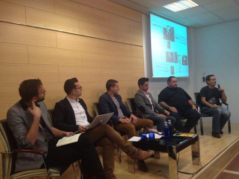 Imagen de uno de los debates en la primera edición de Inturtech.