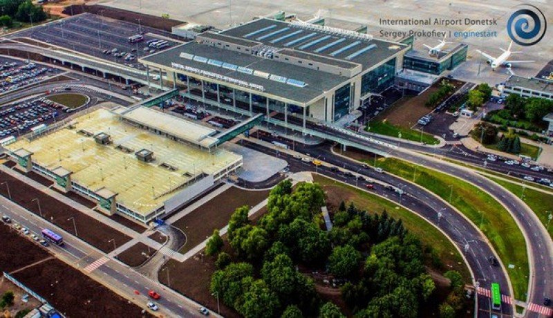 El aeropuerto de Donetsk, en una imagen de archivo, antes del conflicto.