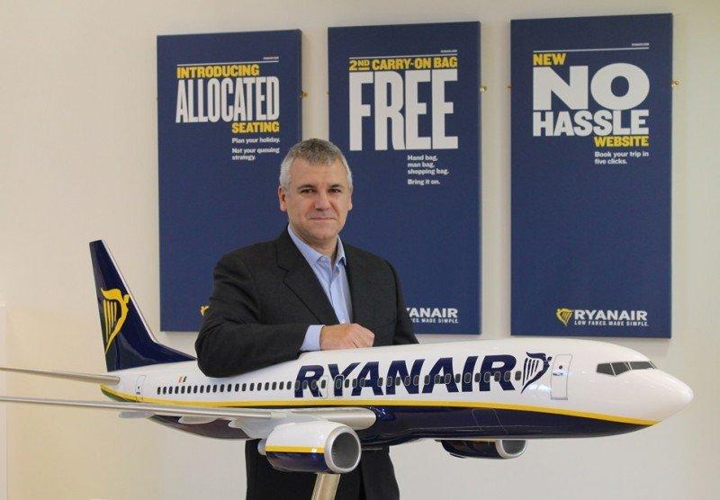 Ryanair nombra a José Espartero nuevo gerente de Ventas y Marketing para España y Portugal