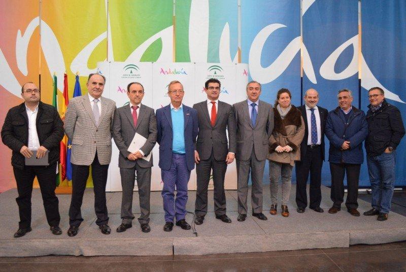Presentación del plan de acción de promoción turística de Andalucía para 2015.