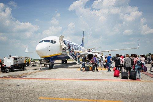 El mayor incremento de pasajeros se produjo entre los que llegaron a España en aerolíneas de bajo coste. #shu#
