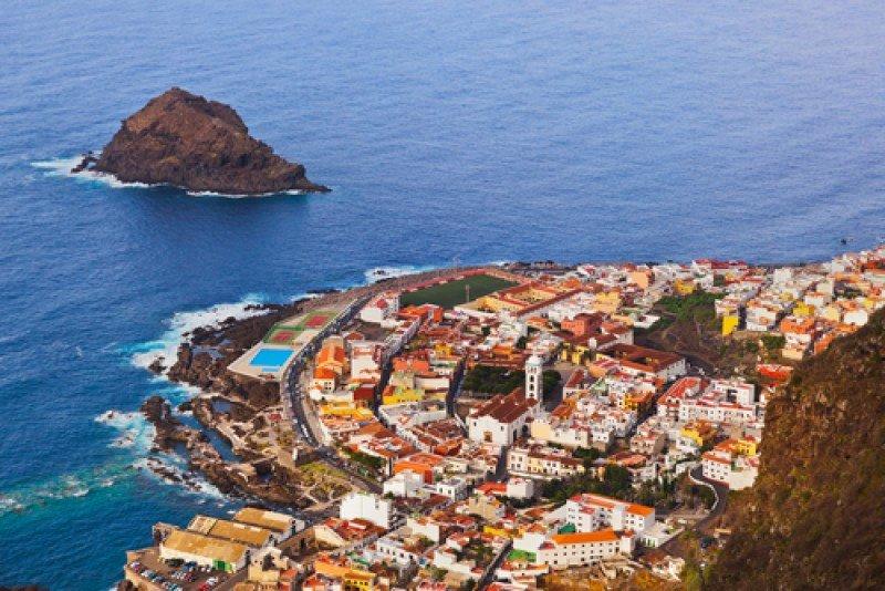 Vista de Garachico, Tenerife. #shu#