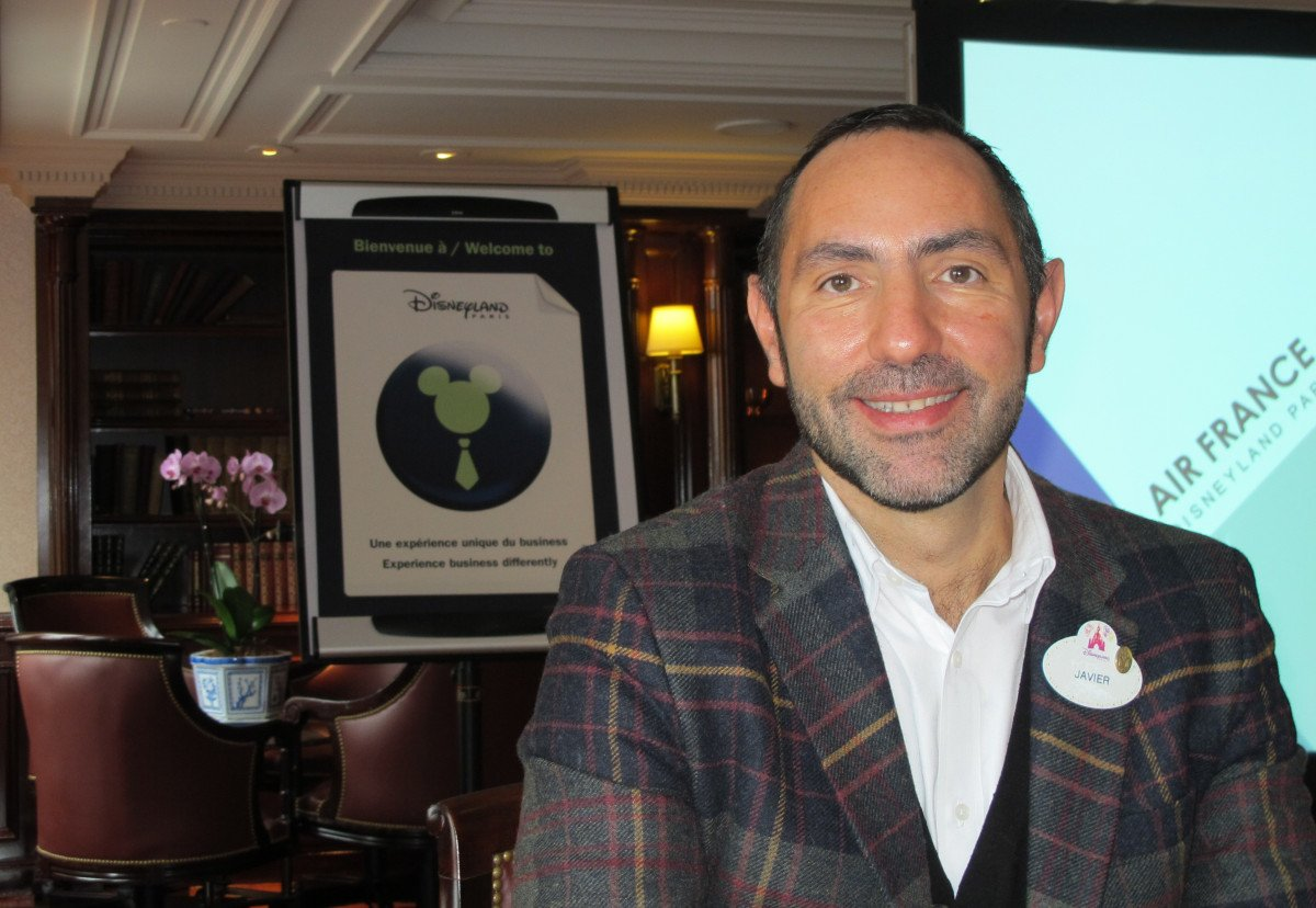Javier Moreno, director de Disneyland París para España y Portugal.