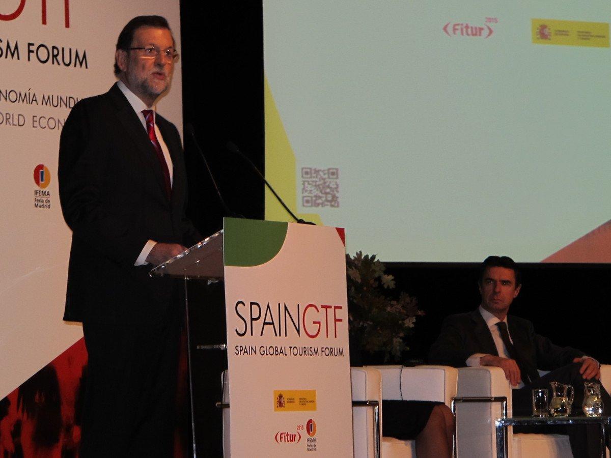 Mariano Rajoy durante su intervención en el foro.