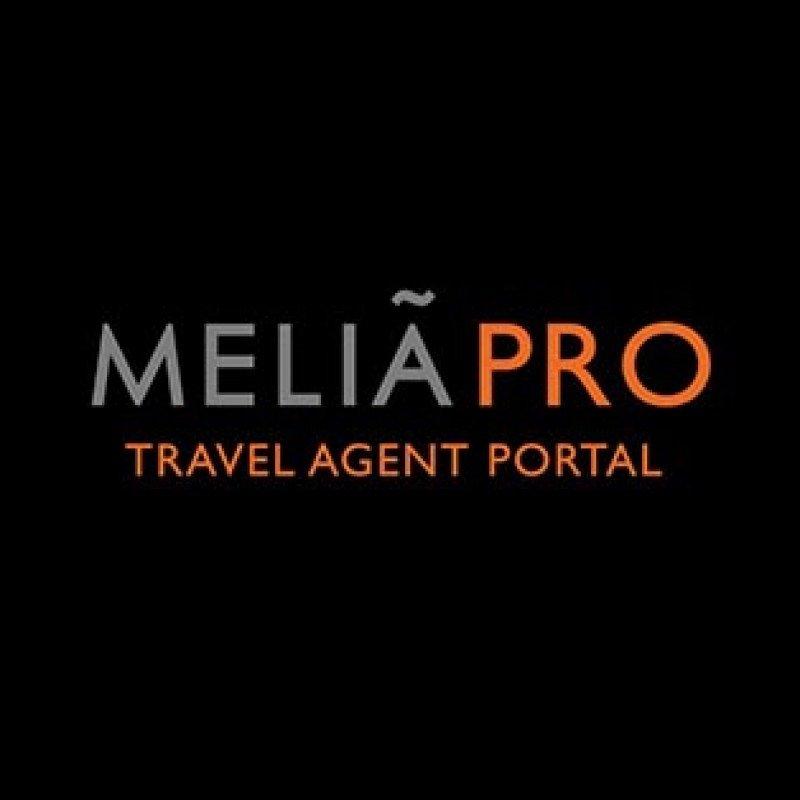 MeliáPro es la plataforma desde la que los agentes pueden realizar su reservas y formarse en el producto de la cadena.