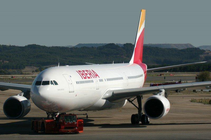 Iberia incrementa su oferta a la República Dominicana un 40%