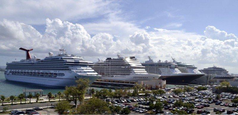 Puerto Rico espera 1,5 millones pasajeros de cruceros en la temporada.